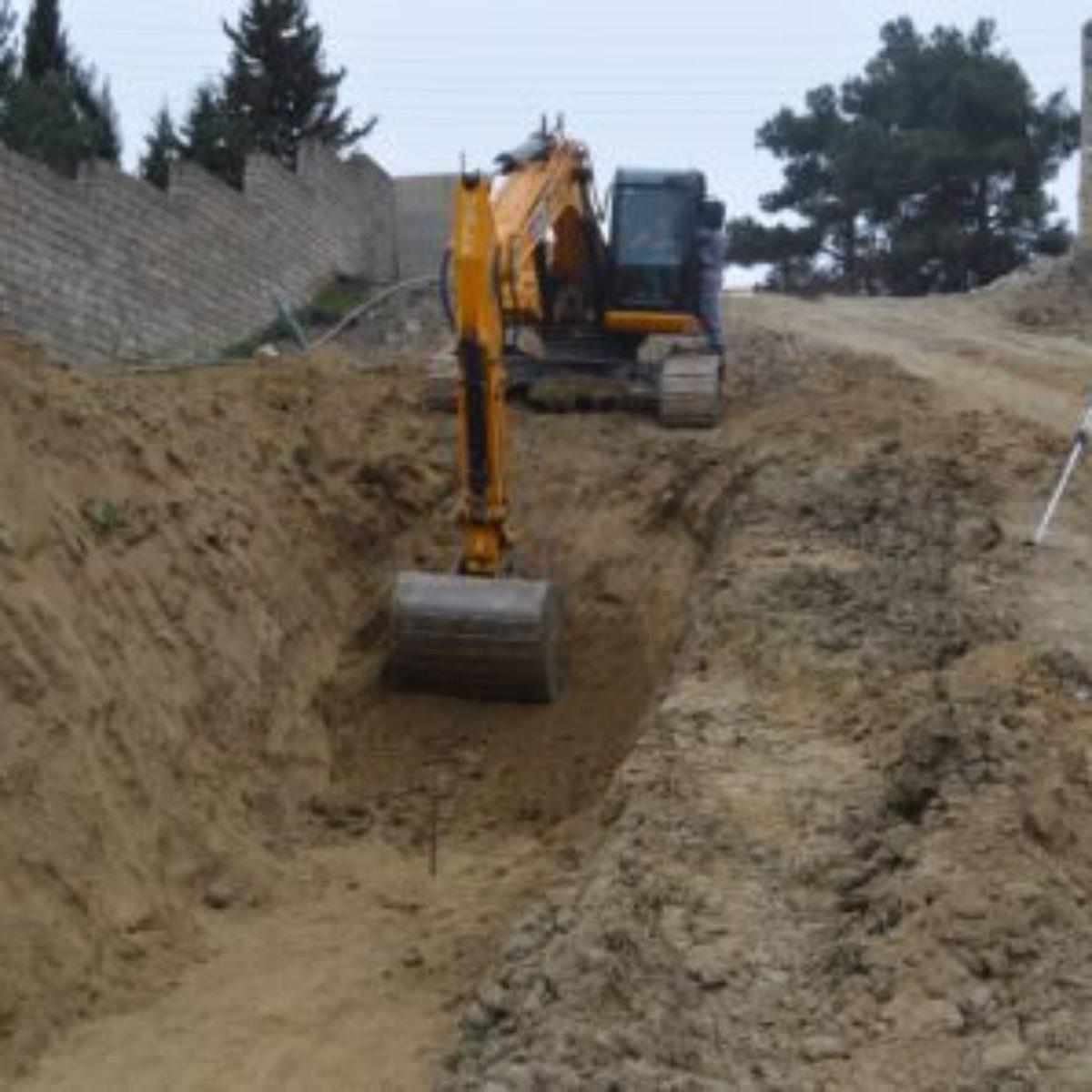 Jeyranbatan +190 Absheron-Balakhanı-Ramana-Zira-Pirallahı main water pipeline and central reservoirs