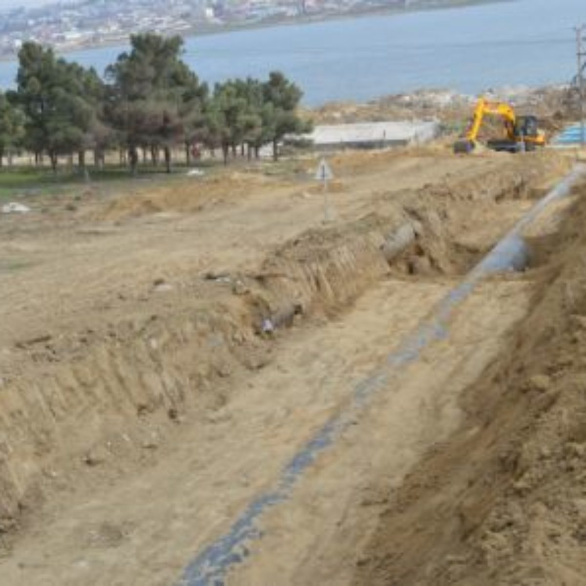 Jeyranbatan +190 Absheron-Balakhanı-Ramana-Zira-Pirallahı main water pipeline and central reservoirs