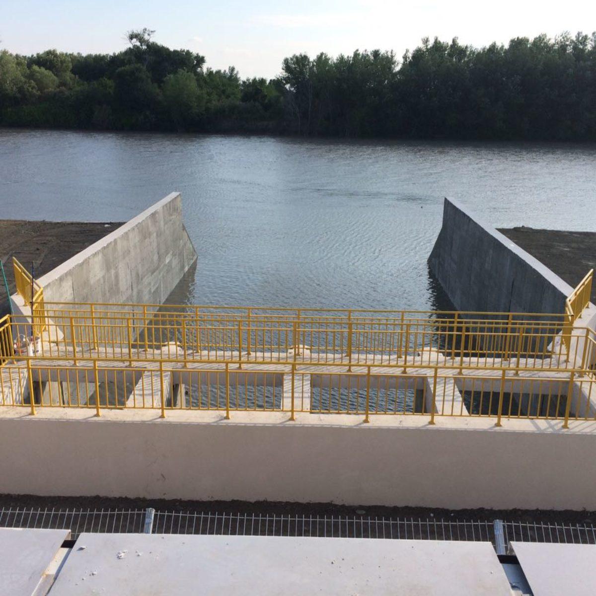 Construction of irrigation system in Zardab region