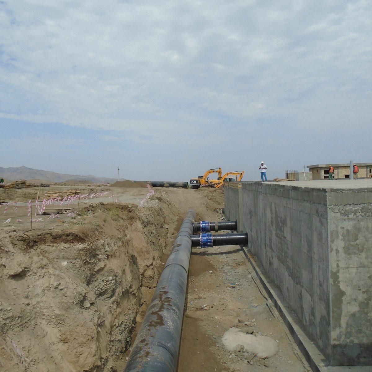 Shamkirchay Water Treatment Plant Complex
