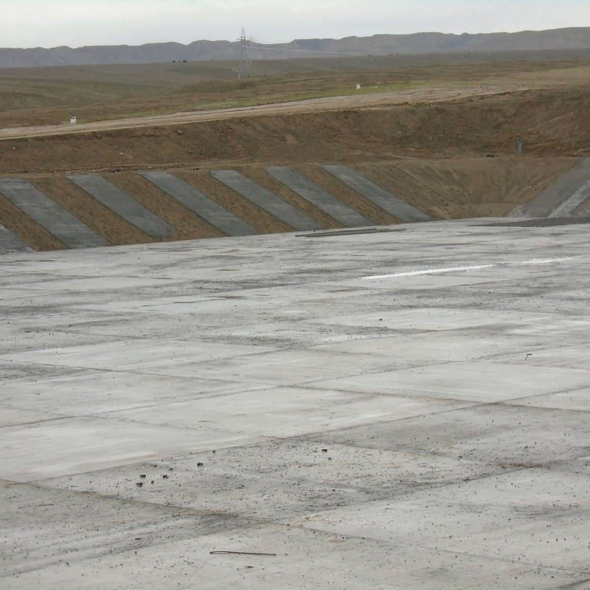 Irrigation system construction in Padarchol